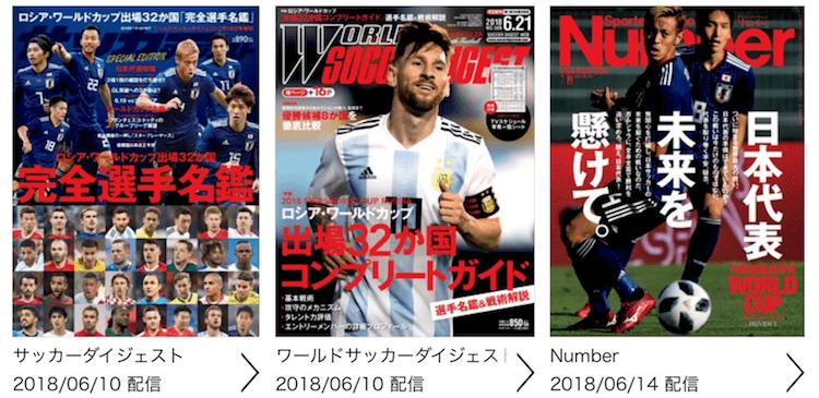 サッカー雑誌